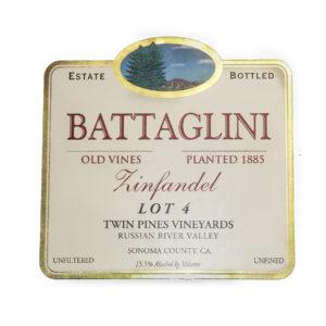 Battaglini Zinfandel Lot 4