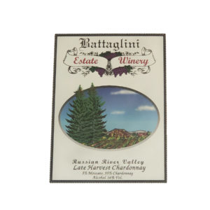 Battaglini Estate Winery Late Harvest Chardonnay