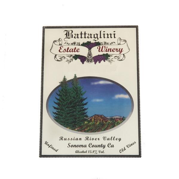 Battaglini Winery Zinfandel Image